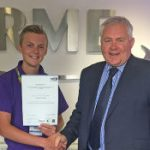 RME apprentice fully qualifies!